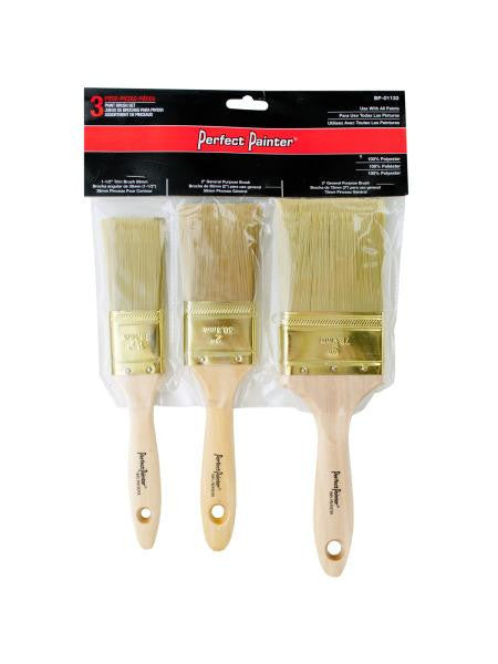 Multi-Purpose Paint Brush Set (Available in a pack of 6)