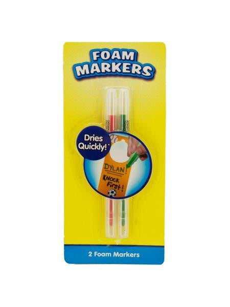 Foam Markers (Available in a pack of 18)