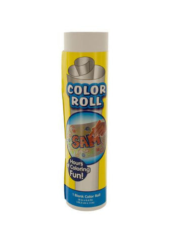 Blank Coloring Roll (Available in a pack of 24)