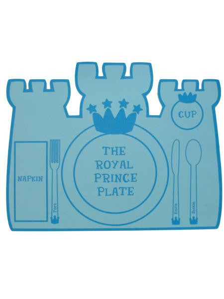 Prince & Princess Foam Castle Placemats (Available in a pack of 18)