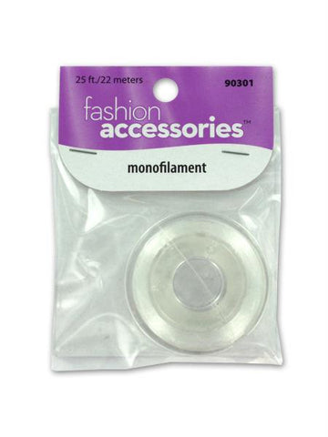 Monofilament cord, 25 feet (Available in a pack of 25)