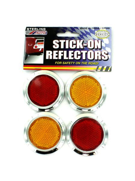 Stick-On Reflectors (Available in a pack of 24)