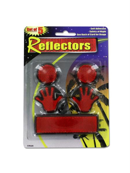 Self-Adhesive Reflectors (Available in a pack of 24)