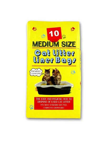 Litter Box Liner Bags (Available in a pack of 24)