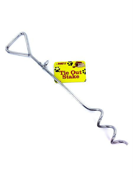 Dog Tie-Out Stake (Available in a pack of 18)