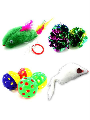 Cat Toy Assortment (Available in a pack of 24)