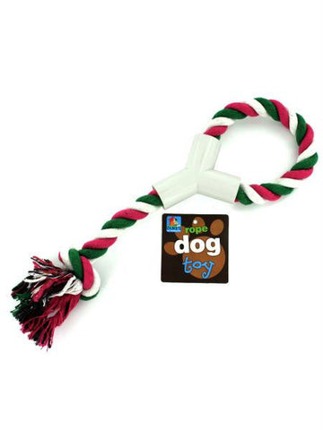 Dog Rope Toy with Hand Grip (Available in a pack of 24)