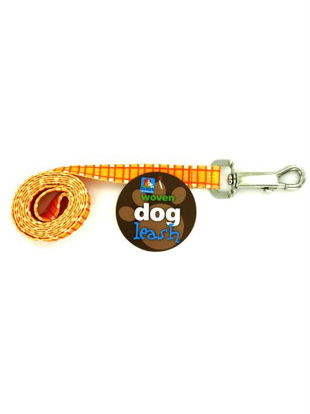 Dog Leash with Plaid Print (Available in a pack of 24)