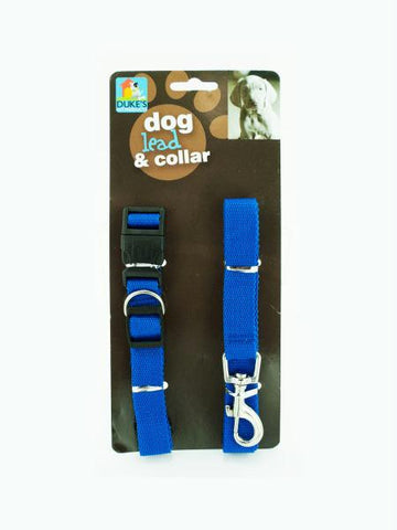 Dog Collar & Lead Set (Available in a pack of 8)