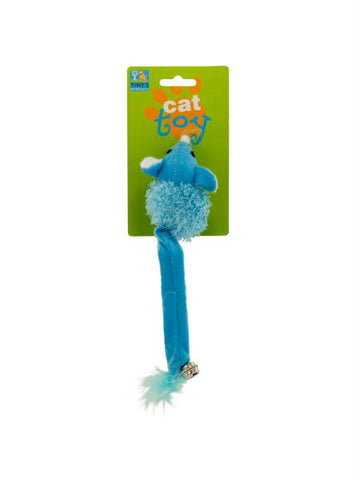 Cat Toy Mouse with Bell and Feathers (Available in a pack of 24)