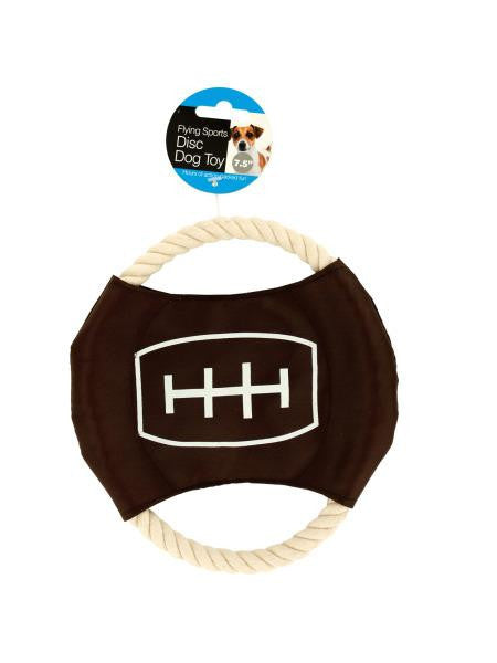 Flying Sports Disc Dog Toy (Available in a pack of 12)