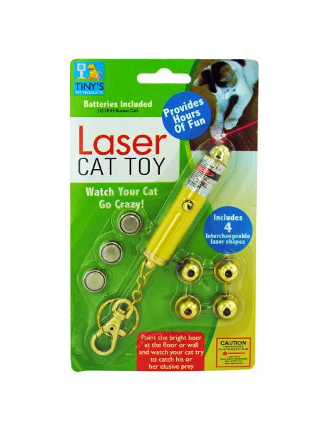 Laser Light Key Chain Toy for Cats (Available in a pack of 20)