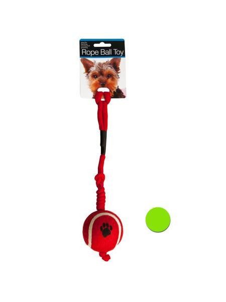 Rope Ball Dog Toy (Available in a pack of 12)