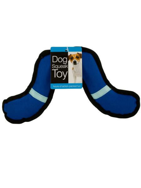 Boomerang Dog Squeak Toy (Available in a pack of 12)