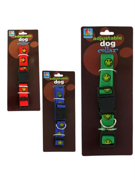 Happy Face Dog Collar (Available in a pack of 24)