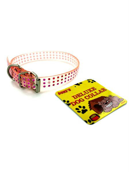 Plastic dog collar (Available in a pack of 24)