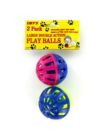 Cat Play Balls with Bells (Available in a pack of 24)