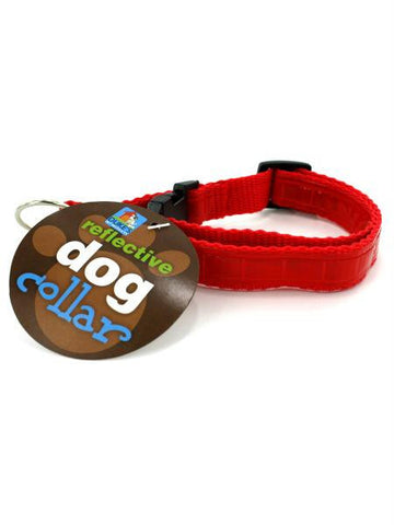 Adjustable Reflective Dog Collar (Available in a pack of 24)