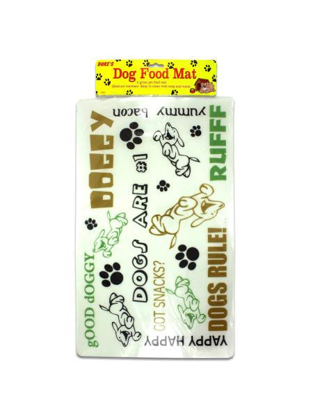 Plastic Dog Food Mat (Available in a pack of 24)