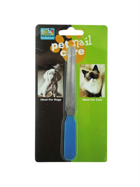 Pet Nail File (Available in a pack of 12)