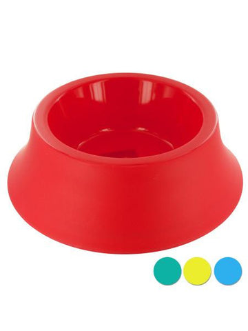 Medium Size Round Plastic Pet Bowl (Available in a pack of 12)
