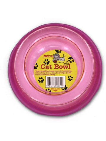 Non-Spill Cat Bowl (Available in a pack of 12)