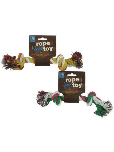 Knotted Rope Dog Toy (Available in a pack of 24)