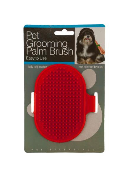 Pet Grooming Palm Brush (Available in a pack of 12)