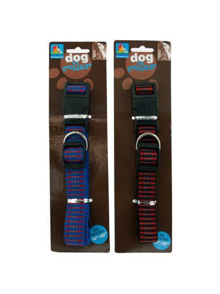 "Dog collar for (size 14""-20"") (Available in a pack of 24)"