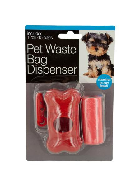 Pet Waste Bag Dispenser with Bags (Available in a pack of 24)