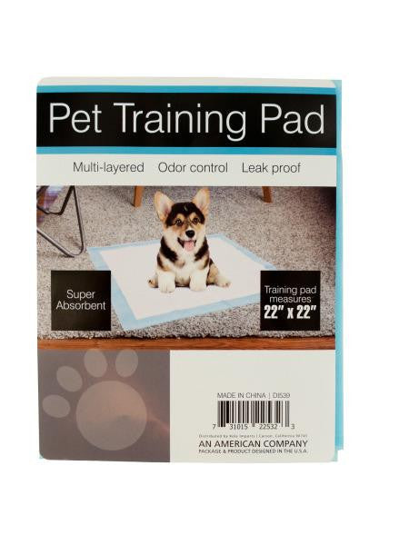 Odor Control Pet Training Pad (Available in a pack of 12)