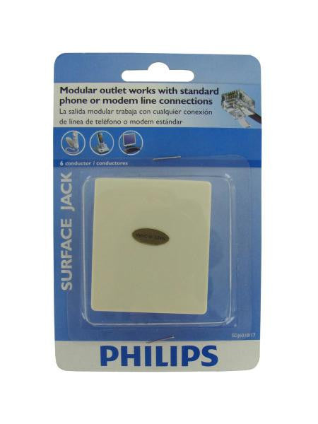 Philips 6 conductor surface jack (Available in a pack of 24)