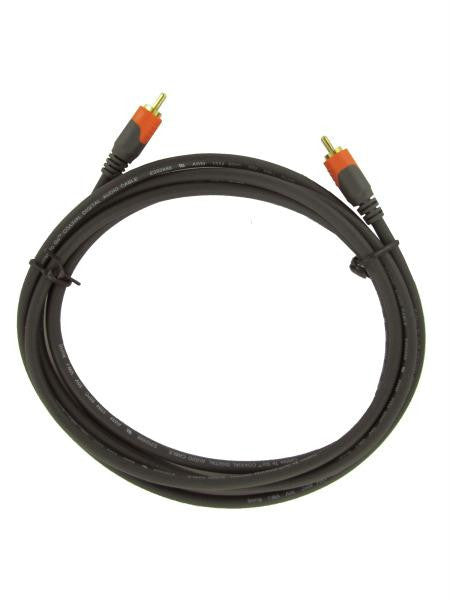 Digital coax cable, 8 feet (Available in a pack of 20)