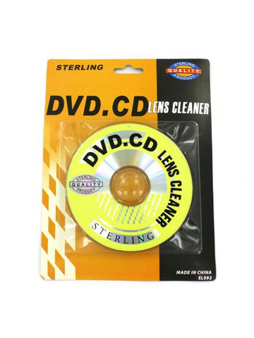 DVD & CD Lens Cleaner (Available in a pack of 36)