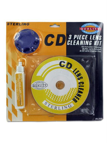 CD Cleaning Kit (Available in a pack of 25)