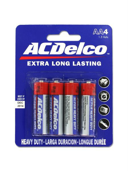 Heavy Duty 'AA' Batteries (Available in a pack of 24)