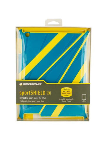 Blue & Yellow iPad 3 Protective Sport Cover (Available in a pack of 3)