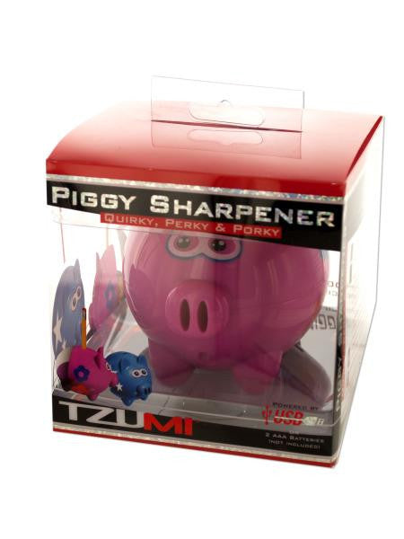 Pink Piggy Pencil Sharpener (Available in a pack of 4)