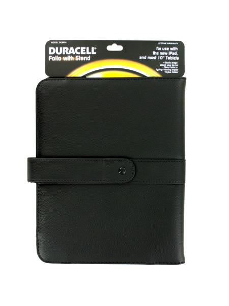 Duracell Tablet Folio Case with Stand (Available in a pack of 4)