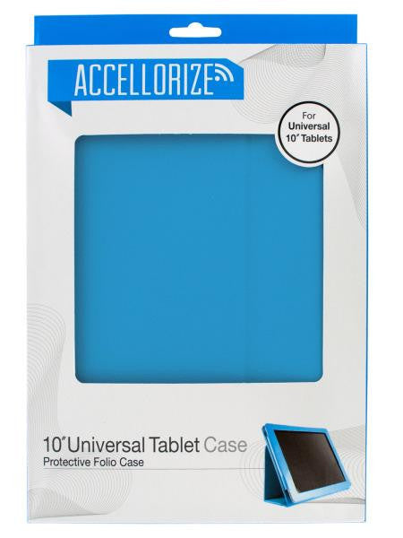 Accellorize Light Blue Universal Tablet Case (Available in a pack of 5)