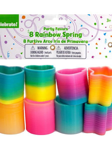 Rainbow Springs Party Favors (Available in a pack of 36)