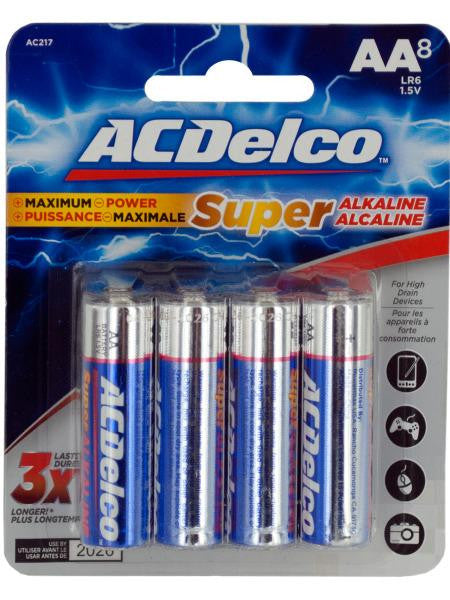 ACDelco Maximum Power AA Alkaline Batteries (Available in a pack of 12)