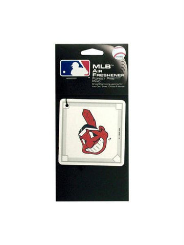 Indians Baseball Diamond Pine Freshener (Available in a pack of 24)