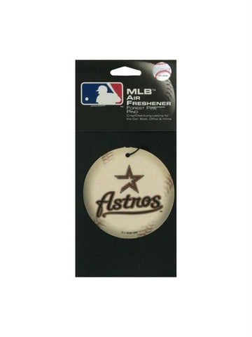 Houston Astros Baseball Pine Freshener (Available in a pack of 24)