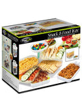 Stacking Snack and Food Tray (Available in a pack of 1)