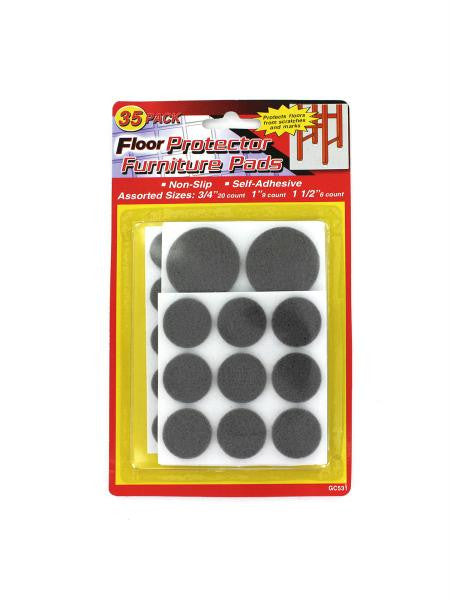 Floor Protecting Furniture Pads (Available in a pack of 24)