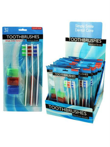 Toothbrush Set Countertop Display (Available in a pack of 12)