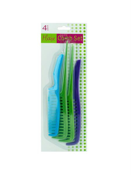 Plastic Comb Set (Available in a pack of 12)