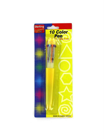 10 Color Scented Pen (Available in a pack of 24) - Blobimports.com