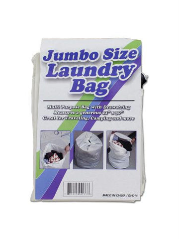 Jumbo Size Laundry Bag with Drawstring (Available in a pack of 24)